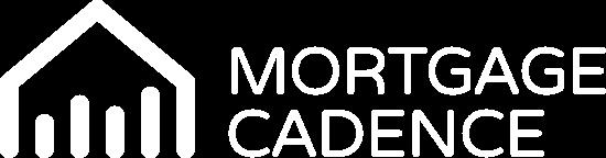 Mortgage Cadence logo white